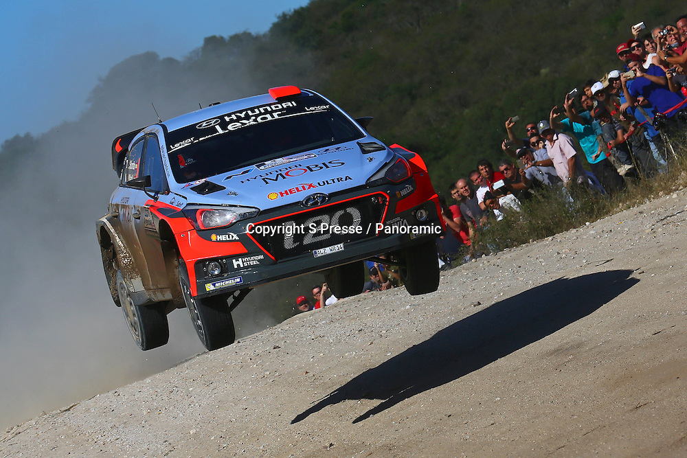 Dani Sordo (ESP) / Marc Marti(ESP)- Hyundai I20 WRC
