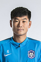 **EXCLUSIVE**Portrait of Chinese soccer player Gao Jiarun of Tianjin TEDA F.C. for the 2018 Chinese Football Association Super League, in Tianjin, China, 28 February 2018.