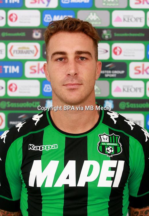 Italian League Serie A -2016-2017 / <br /> ( US Sassuolo Calcio ) - <br /> Emanuele Terranova