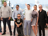 The cast at the Chouf film photo call at the 69th Cannes Film Festival Monday 16th May 2016, Cannes, France. Photography: Doreen Kennedy