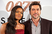 29.OCTOBER.2012. MADRID<br /> <br /> NAOMIE HARRIS AND JAVIER BARDEM ATTEND THE SKYFALL PHOTOCALL AT HOTEL VILLAMAGNA IN MADRID.<br /> <br /> BYLINE: EDBIMAGEARCHIVE.CO.UK<br /> <br /> *THIS IMAGE IS STRICTLY FOR UK NEWSPAPERS AND MAGAZINES ONLY*<br /> *FOR WORLD WIDE SALES AND WEB USE PLEASE CONTACT EDBIMAGEARCHIVE - 0208 954 5968*