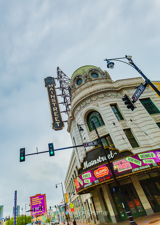 Mainstreet Theater at 14th and Main in Kansas City Missouri