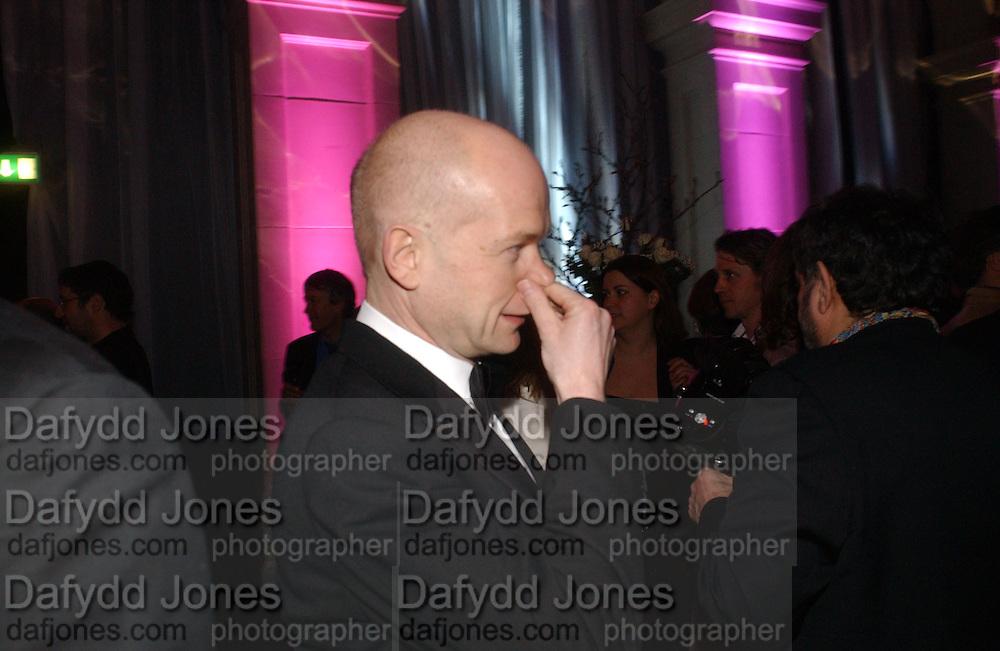 William  Hague. The Black and White Winter Ball. Old Billingsgate. London. 8 February 2006. -DO NOT ARCHIVE-© Copyright Photograph by Dafydd Jones 66 Stockwell Park Rd. London SW9 0DA Tel 020 7733 0108 www.dafjones.com