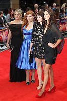 Laura Haddock; Tamla Kari; Lydia Rose Bewley; Jessica Knappett The Inbetweeners Movie world premiere, Vue Cinema, Leicester Square, London, UK, 16 August 2011:  Contact: Rich@Piqtured.com +44(0)7941 079620 (Picture by Richard Goldschmidt)