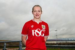Flo Allen of Bristol City Women's FC - Mandatory byline: Rogan Thomson/JMP - 11/01/2016 - FOOTBALL - Stoke Gifford Stadium - Bristol, England - Bristol City Women's FC New Signings.
