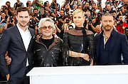 NICHOLAS HOULT, GEORGE MILLER, CHARLIZE THERON and TOM HARDY - PHOTOCALL FILM 'MAD MAX' - 68TH CANNES FILM FESTIVAL <br /> ©Exclusivepix Media