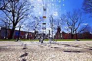 An early spring Saturday in Washington Park, Cincinnati, Ohio.