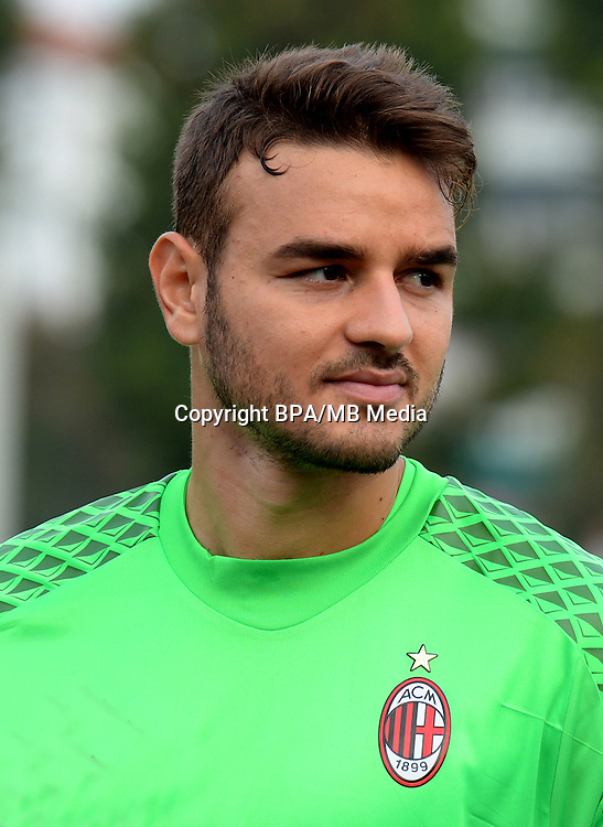 Italian League Serie A -2016-2017 / <br /> ( AC Milan  ) - <br /> Gabriel Vasconcelos Ferreira &quot; Gabriel &quot;