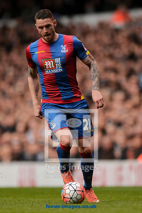 Connor Wickham of Crystal Palace during the FA Cup match between Tottenham Hotspur and Crystal Palace at White Hart Lane, London<br /> Picture by Richard Blaxall/Focus Images Ltd +44 7853 364624<br /> 21/02/2016