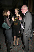 ALICE NORTON, PHILIPPA NOAKES AND OWEN RAFFERTY, Literary Review's Bad Sex In Fiction Prize.  In & Out Club (The Naval & Military Club), 4 St James's Square, London, SW1, 29 November 2006. <br />