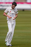 Graham Onions(Durham County Cricket Club) preparing to bowl during the LV County Championship Div 1 match between Durham County Cricket Club and Somerset County Cricket Club at the Emirates Durham ICG Ground, Chester-le-Street, United Kingdom on 9 June 2015. Photo by George Ledger.