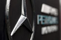August 31, 2018 - Monza, Italy - Motorsports: FIA Formula One World Championship 2018, Grand Prix of Italy, .Logotype of Mercedes AMG Petronas Motorsport  (Credit Image: © Hoch Zwei via ZUMA Wire)
