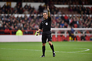 Match official and referee Keith Stroud during the EFL Sky Bet Championship match between Nottingham Forest and Burton Albion at the City Ground, Nottingham, England on 21 October 2017. Photo by Richard Holmes.