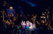 The Pearl Fishers <br /> music by Georges Bizet <br /> production by Penny Woolcock <br /> English National Opera, London Coliseum, London, Great Britain <br /> rehearsal <br /> 17th October 2016 <br /> <br /> <br /> Robert McPherson as Nadir <br /> <br /> Claudia Boyle as Leila <br /> <br /> <br /> <br /> <br /> Photograph by Elliott Franks <br /> Image licensed to Elliott Franks Photography Services
