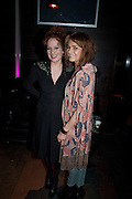 KATHERINE PARKINSON,; KARA TOINTON; ;  Absent Friends - press night  afterparty. Mint Leaf. Haymarket. London. Thursday 9 February 2012
