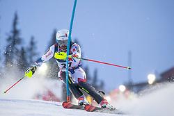 11.02.2019, Aare, SWE, FIS Weltmeisterschaften Ski Alpin, alpine Kombination, Herren, Slalom, im Bild Maxence Muzaton (FRA) // Maxence Muzaton of France reacts after the Slalom competition of the men's alpine combination for the FIS Ski World Championships 2019. Aare, Sweden on 2019/02/11. EXPA Pictures © 2019, PhotoCredit: EXPA/ Johann Groder