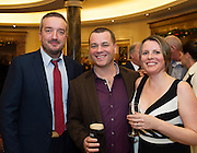 Ray Jordan CEO Gorta Self Help Africa with Natasha and Tom Foley at the Gorta Self Help Africa Annual Ball at the Galway Bay Hotel, Salthill Galway.<br /> Photo:Andrew Downes, xposure.