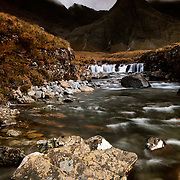 The black cuillin and faerie pools, Glen Brittle, Isle of Skye