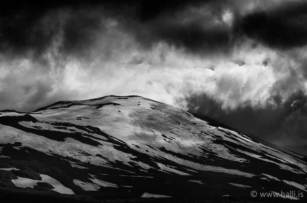 The mountain Hekla, south Iceland - Hekla