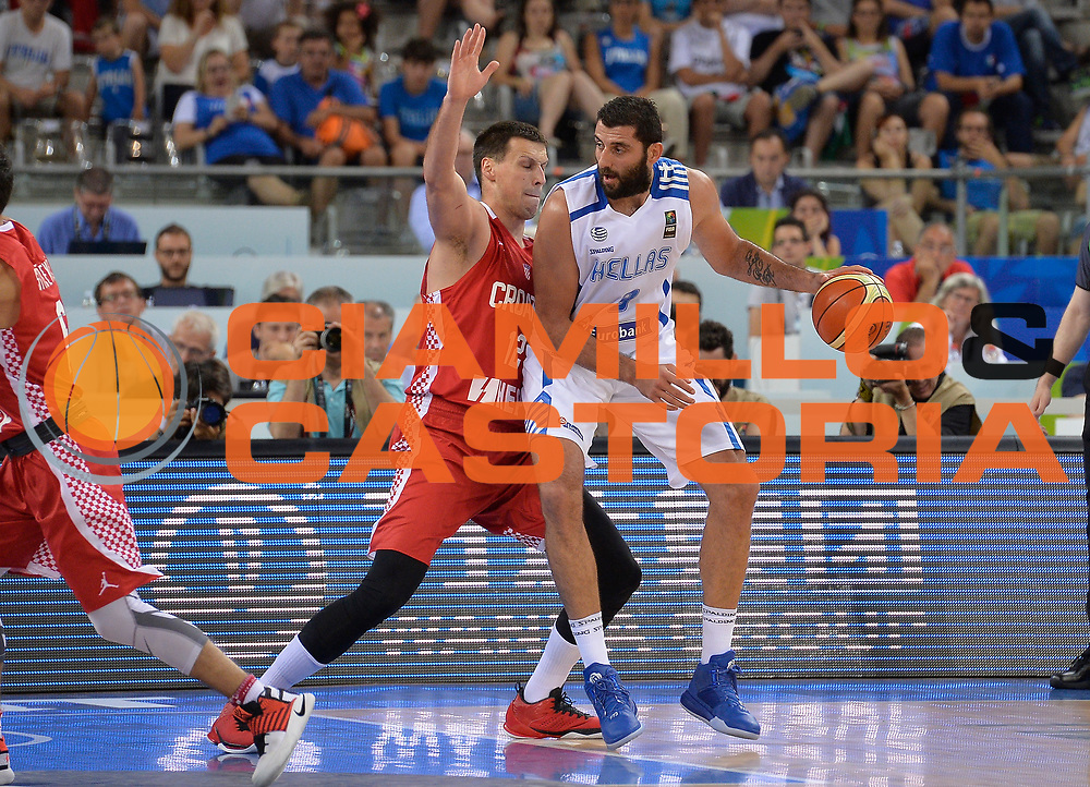 DESCRIZIONE: Torino FIBA Olympic Qualifying Tournament Grecia Croazia<br /> GIOCATORE: Bourousis Ioannis<br /> CATEGORIA: GREECE GRECIA<br /> GARA: FIBA Olympic Qualifying Tournament Grecia-Croazia<br /> DATA: 08/07/2016<br /> AUTORE: Agenzia Ciamillo-Castoria