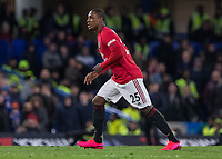 Football - 2019 / 2020 Premier League - Chelsea vs. Manchester United<br /> <br /> Odion Ighalo (Manchester United) makes his Manchester United Premiership debut in the 90th minute at Stamford Bridge <br /> <br /> COLORSPORT/DANIEL BEARHAM