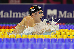 20.08.2014, Europa Sportpark, Berlin, GER, LEN, Schwimm EM 2014, 200m Brust, Männer, Halbfinale, im Bild Marko Koch (Deutschland // during the semifinal of men's 200m breaststroke of the LEN 2014 European Swimming Championships at the Europa Sportpark in Berlin, Germany on 2014/08/20. EXPA Pictures © 2014, PhotoCredit: EXPA/ Eibner-Pressefoto/ Lau<br /> <br /> *****ATTENTION - OUT of GER*****