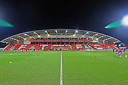 Highbury Stadium during the Sky Bet League 1 match between Fleetwood Town and Walsall at the Highbury Stadium, Fleetwood, England on 15 March 2016. Photo by Pete Burns.