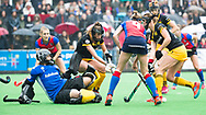 BILTHOVEN  - Hockey -  1e wedstrijd Play Offs dames. SCHC-Den Bosch (0-1). Josine Koning (Den Bosch)  COPYRIGHT KOEN SUYK