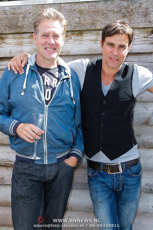 NLD/Amsterdam/20120713 - Lancering Sportglossy Londen, Peter Heerschop en Viggo Waas