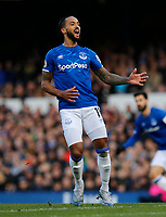 Football - 2019 / 2020 Premier League - Everton vs. Manchester United<br /> <br /> Theo Walcott of Everton, at Goodison Park.<br /> <br /> COLORSPORT/ALAN MARTIN