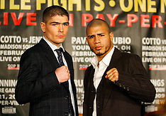 January 13, 2009: Miguel Cotto & Kelly Pavlik Press Conferences