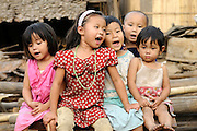 Refugees from Burma at Mae La Refugee Camp, Thailand.