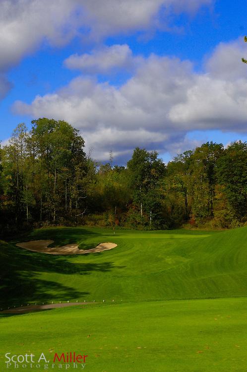 Sept. 19, 2006; Brainerd, Minn., USA; No. 4 on Golden Eagle Golf Club part of the Brainerd Golf Trail in Minnesota..                ©2006 Scott A. Miller