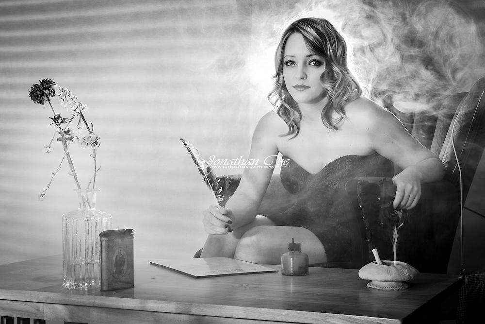 Model: Jessica Barfield