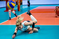 19-10-2018 JPN: Semi Final World Championship Volleyball Women day 18, Yokohama<br /> Serbia - Netherlands / Kirsten Knip #1 of Netherlands