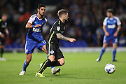 Brighton & Hove Albion midfielder Oliver Norwood (21) during the EFL Sky Bet Championship match between Ipswich Town and Brighton and Hove Albion at Portman Road, Ipswich, England on 27 September 2016.