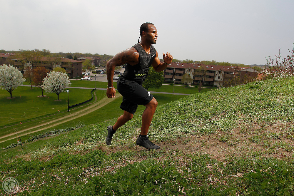 Matt Forte.for Sweat Spot.Tuesday, May 10, 2011..Photograph by Ross Dettman