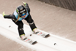 February 7, 2019 - Ljubno, Savinjska, Slovenia - Nika Kriznar of Slovenia competes on qualification day of the FIS Ski Jumping World Cup Ladies Ljubno on February 7, 2019 in Ljubno, Slovenia. (Credit Image: © Rok Rakun/Pacific Press via ZUMA Wire)
