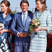 NLD/Rhenen/20120430 - Koninginnedag 2012 Rhenen, Aimee Söhngen, Maurits en Marilene van den Broek
