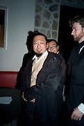 Takashi Murakami,  Prada Congo Art Party hosted by Miuccia Pada and Larry Gagosian. The Double Club,  Torrens St. London EC1. The Double Club is A Carsten Holler project by Fondazione Prada. 10 February 2009.