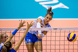 23-08-2017 NED: World Qualifications Greece - Slovenia, Rotterdam<br /> Sloveni&euml; wint met 3-0 / Sasa Planinsec #18 of Slovenia