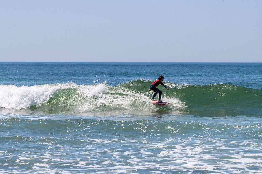 Surfing, Ditch Plains Beach, Montauk, NY