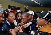 G.B. ENGLAND. East London. Youth club emceeing session. 2005.