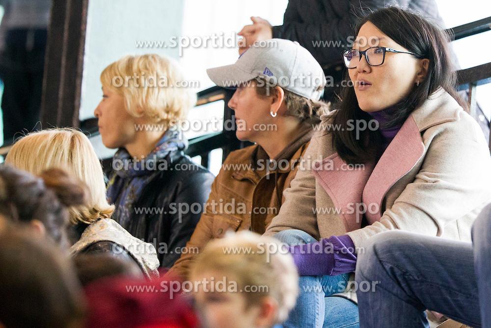 Liudmila Bodnieva during handball match between Women National Teams of Slovenia and Montenegro in 2016 Women's European Championship Qualification, on October 11, 2015 in Arena Kodeljevo, Ljubljana, Slovenia. Photo by Urban Urbanc / Sportida