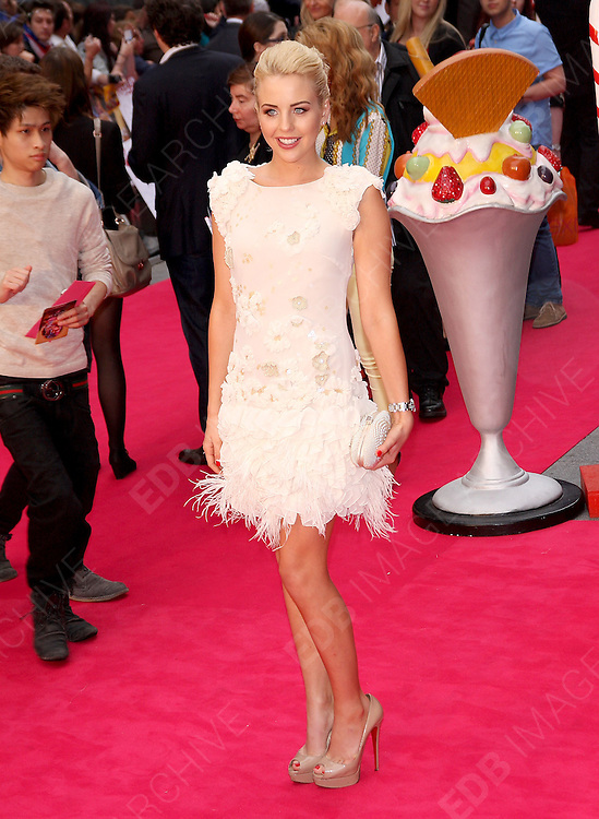 03.JULY.2012. LONDON<br /> <br /> LYDIA BRIGHT ATTENDS THE UK PREMIERE OF KATY PERRY PART OF ME 3D AT THE EMPIRE CINEMA, LEICESTER SQUARE.<br /> <br /> BYLINE: EDBIMAGEARCHIVE.CO.UK<br /> <br /> *THIS IMAGE IS STRICTLY FOR UK NEWSPAPERS AND MAGAZINES ONLY*<br /> *FOR WORLD WIDE SALES AND WEB USE PLEASE CONTACT EDBIMAGEARCHIVE - 0208 954 5968*