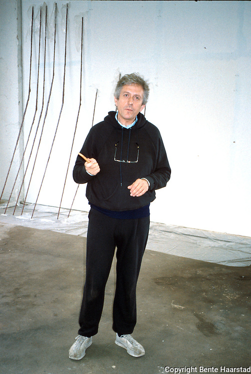 Jan Groth, billedkunstner, Kunstakademiet i Trondheim/TMV<br /> dias