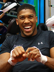 Anthony Joshua Press Conference - 17 October 2017