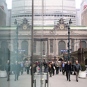 An exterior shot of Grand Central Terminal  in Manhattan, New York, USA. 29th January 2013. Photo Tim Clayton