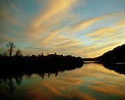 """Beautiful sunset on Brazos River in Waco, Texas. NOTE: Click """"Shopping Cart"""" icon for available sizes and prices. If a """"Purchase this image"""" screen opens, click arrow on it. Doing so does not constitute making a purchase. To purchase, additional steps are required."""