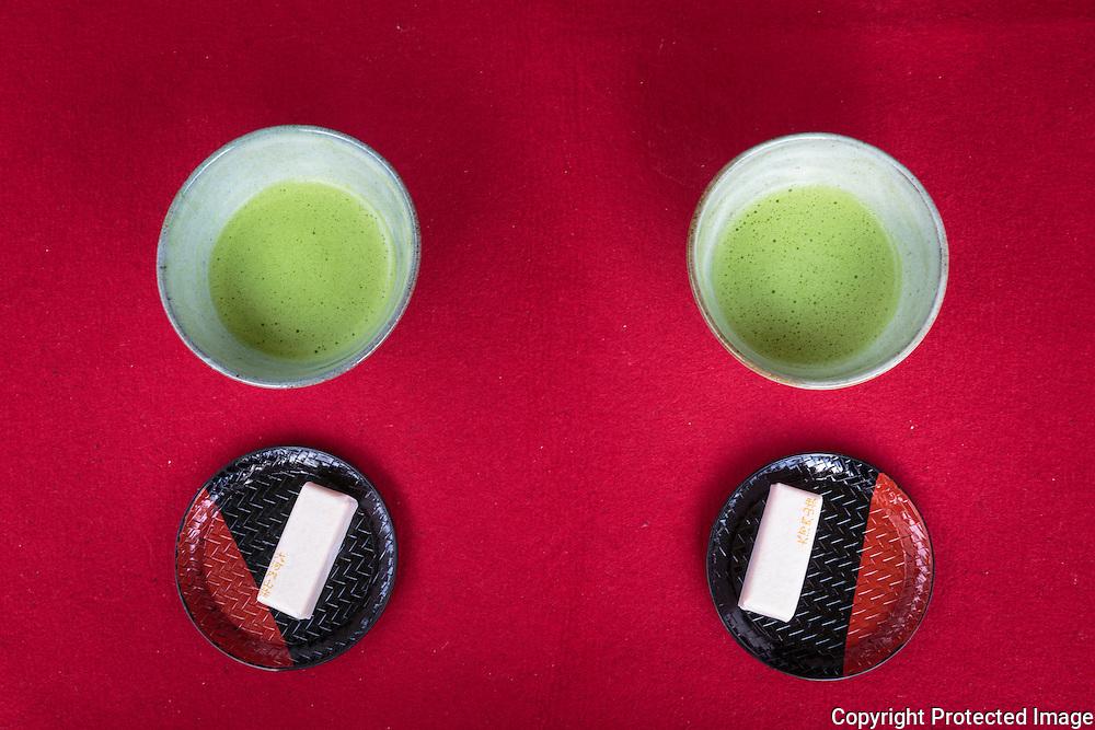 Ōkōchi Sansō, Tea,  Arashiyama, Kyoto, Japan